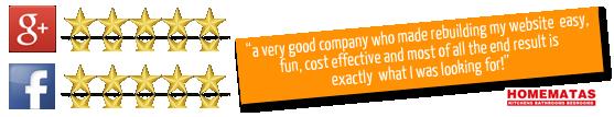 reviews on Pumpkin Web Design in Chorley