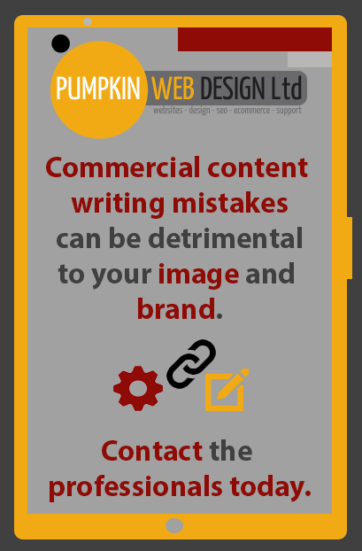 Commercial Content Writing Mistakes