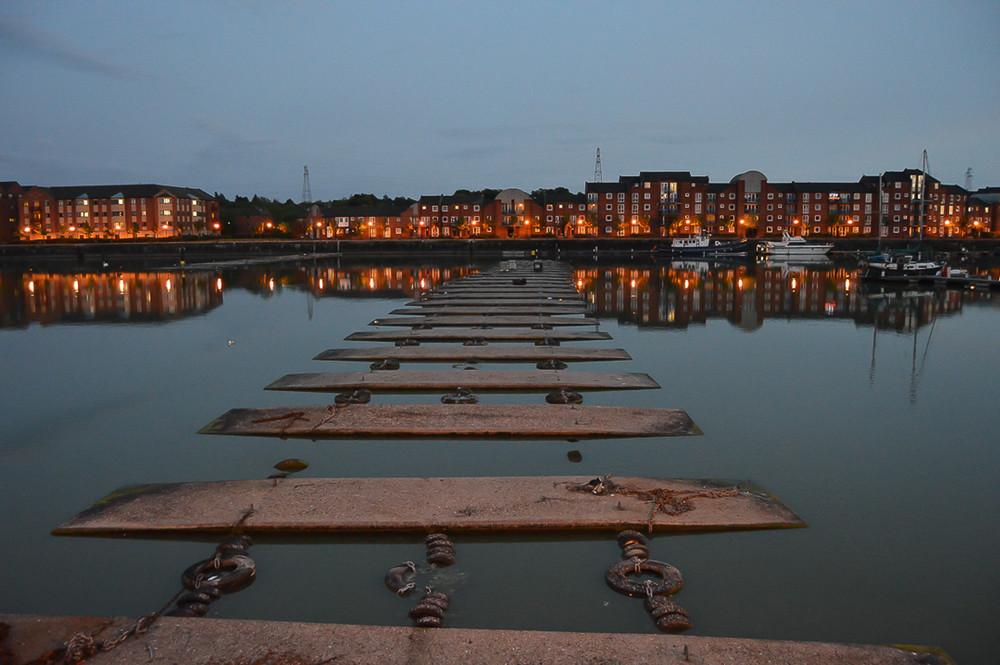 Preston docks, Lancashire